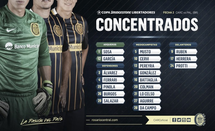 Concentrados para visitar a Palmeiras
