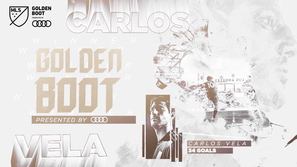 Carlos Vela, MLS Bota de Oro 2019