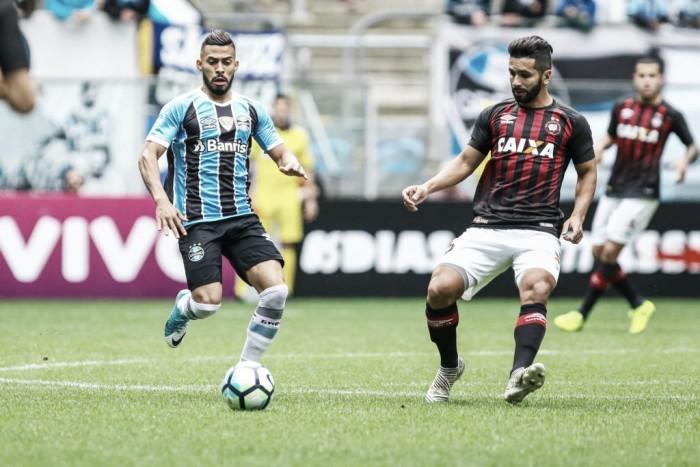 Gremistas destacam dificuldade da partida ante Atlético-PR e valorizam ponto somado
