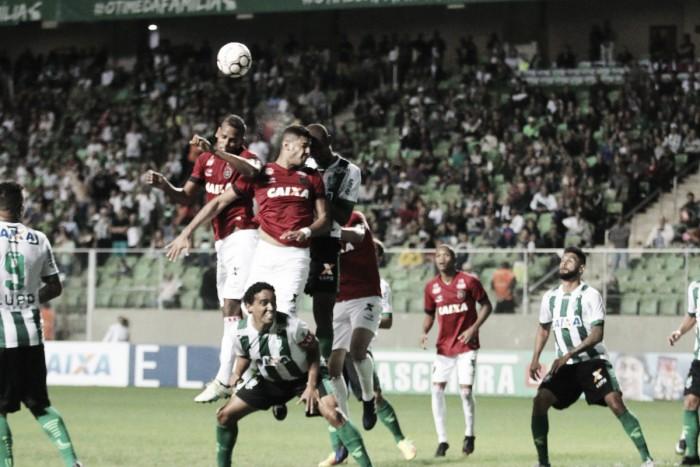 América-MG aproveita chances e bate Brasil de Pelotas para entrar no G-4 da Série B