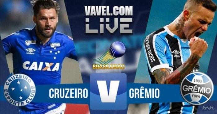 Resultado Cruzeiro x Grêmio no Campeonato Brasileiro 2017 (3-3)