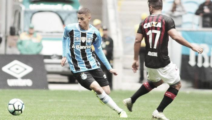 Veja os gols da partida — Santos x Grêmio
