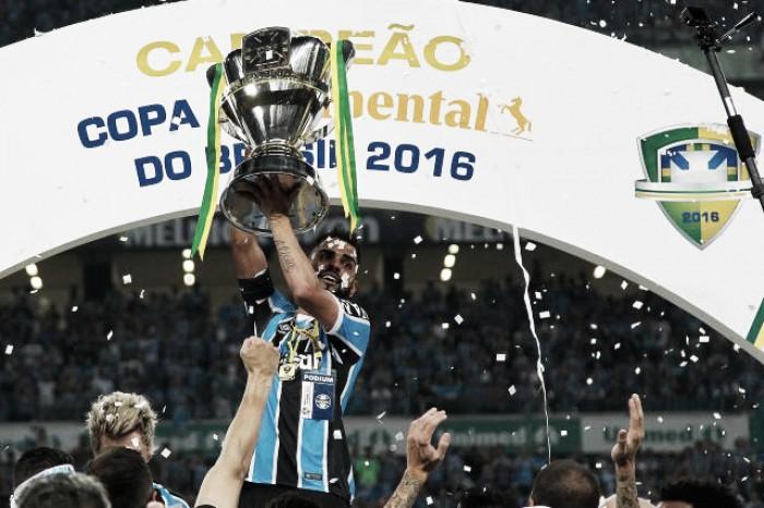 Em defesa da taça: Grêmio é o clube com mais chegadas à fase semifinal da Copa do Brasil