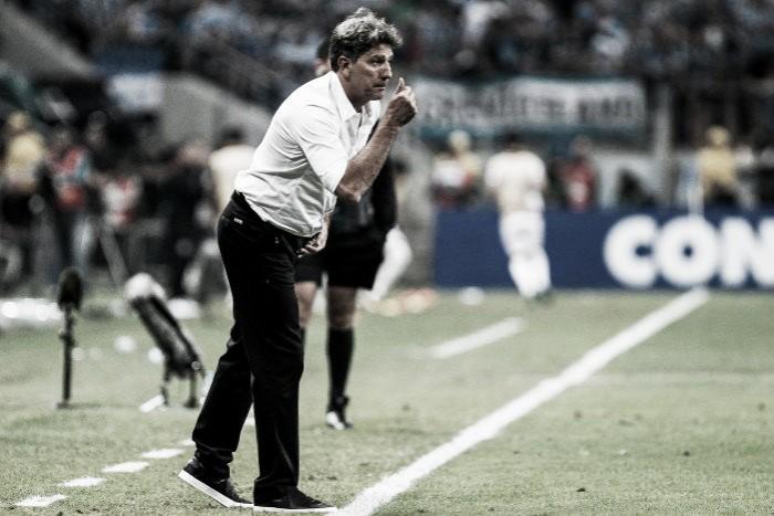 """Renato exalta gol marcado em casa na final: """"Importante é que conseguimos uma vantagem"""""""