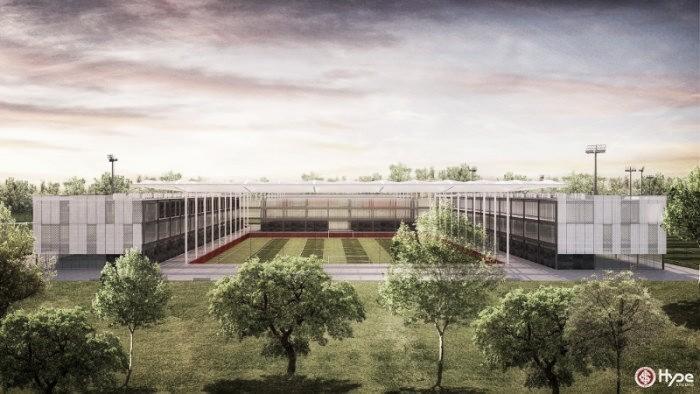 Internacional espera começar obras do novo Centro de Treinamentos em 2018