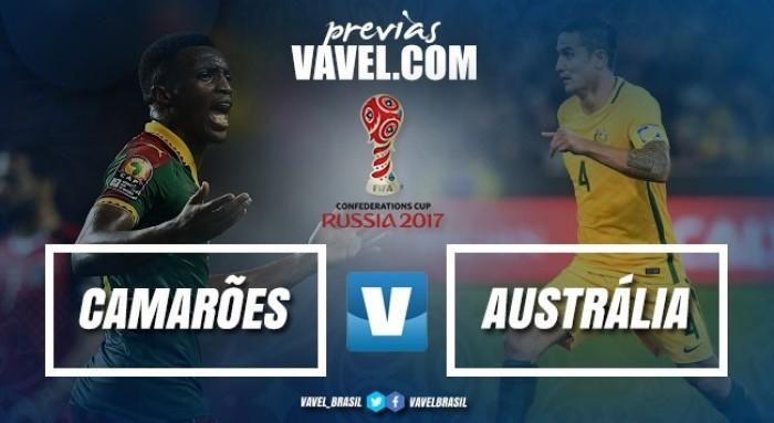 Camarões e Austrália duelam para manter chances de classificação na Copa das Confederações