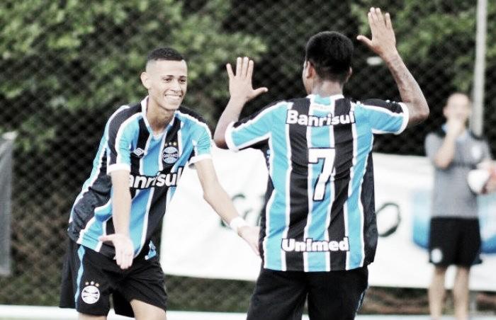 Criação da base: jovem Patrick se destaca pelo Grêmio e atrai atenção de torcedores