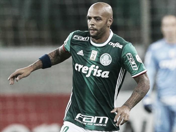 Após ser afastado por Cuca no Palmeiras, Felipe Melo é cogitado como reforço do Internacional