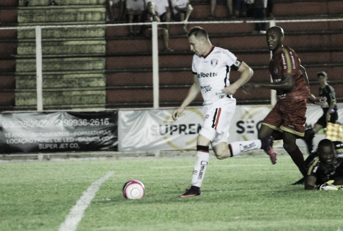 Hercílio Luz reage com três gols no segundo tempo e alcança empate diante do Joinville