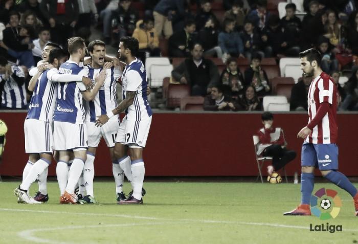 Real Sociedad chega a quarta vitória seguida ao bater Sporting Gijón fora de casa