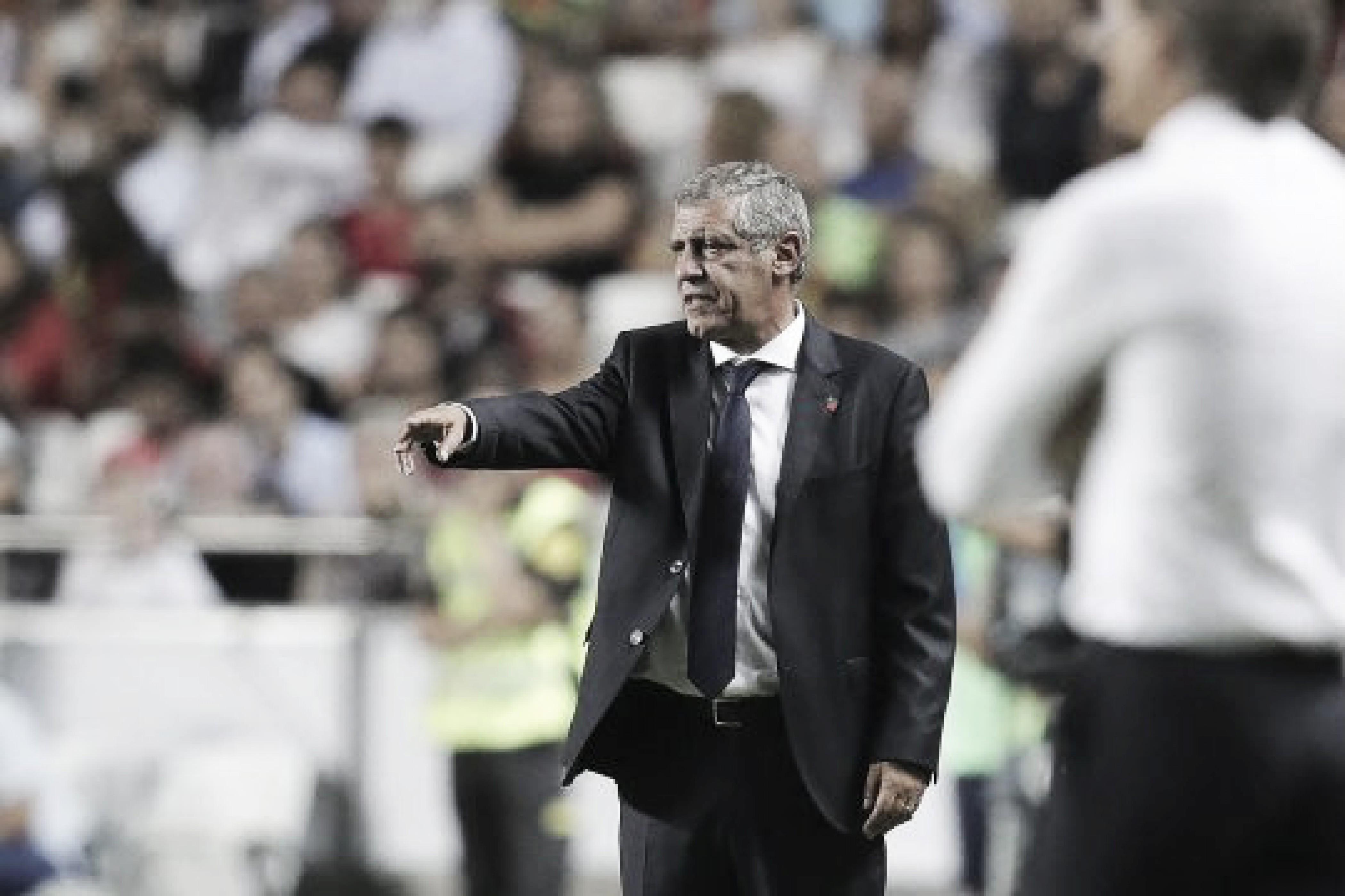 """Fernando Santos lamenta falta de ambição de Portugal pela Liga das Nações: """"É um torneio complicado"""""""