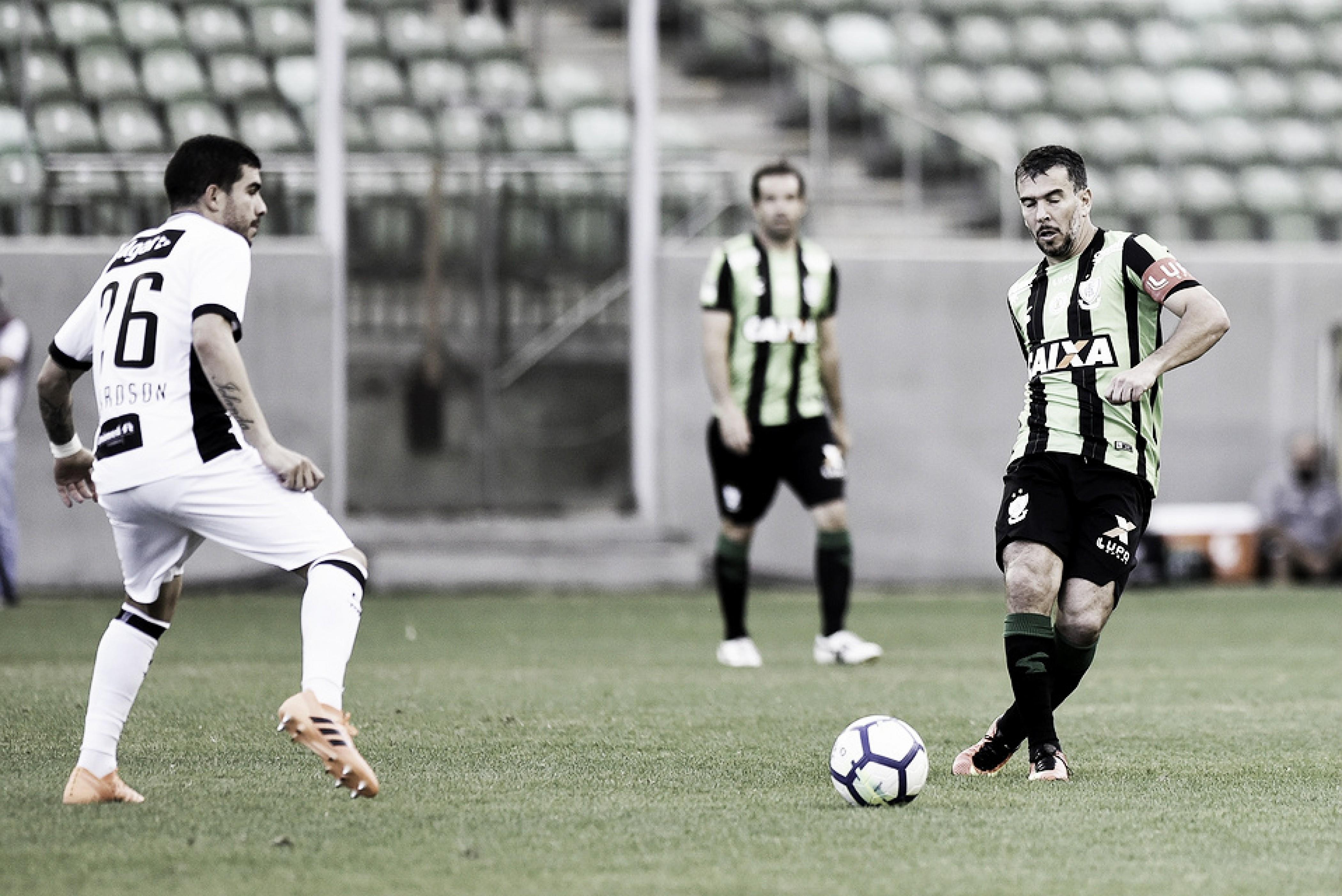 Em jogo morno, América-MG e Ceará empatam sem gols no Independência