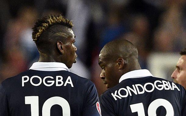 Inter-Juve, la sfida in campo Kondogbia - Pogba