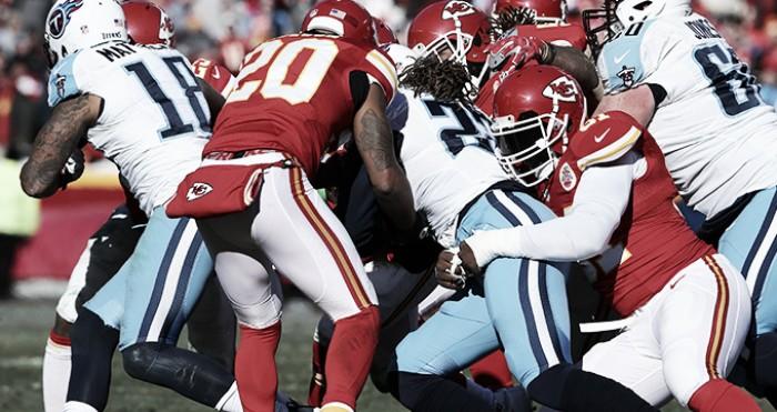 Previa Tennessee Titans - Kansas City Chiefs: choque de trenes entre Kareem Hunt y la defensa de Titans