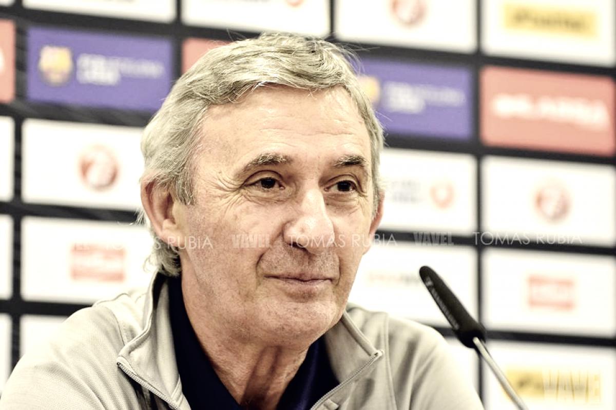 "Svetislav Pesic: ""Queremos terminar al nivel del Barcelona"""