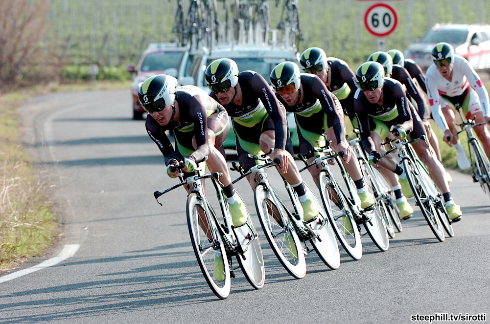 GreenEDGE se adjudica el prólogo de Tirreno-Adriático