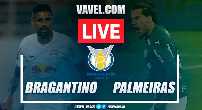 Gols e melhores momentos para RB Bragantino 1x2 Palmeiras pelo Campeonato Brasileiro 2020