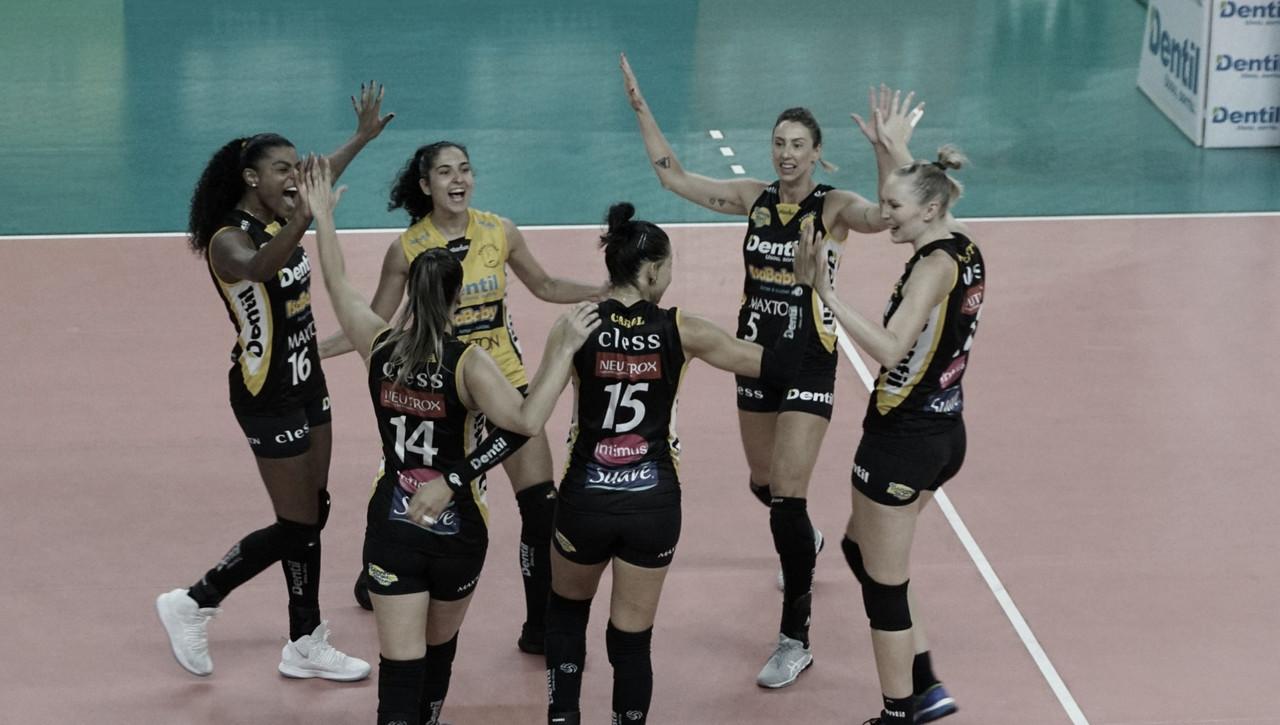 Em duelo acirrado, Dentil/Praia Clube bate Itambé/Minas e conquista vice-liderança