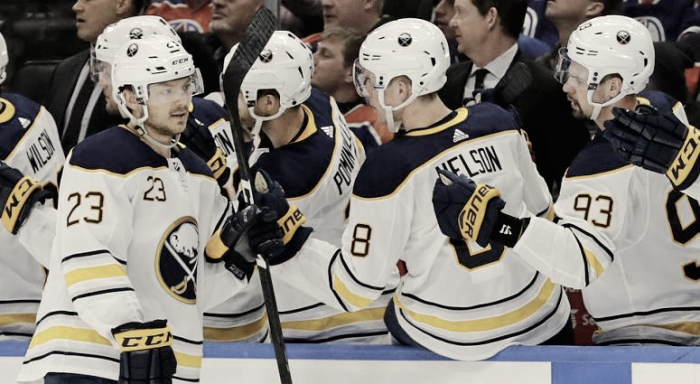 This week (January 19-25-2018) in Buffalo Sabres hockey