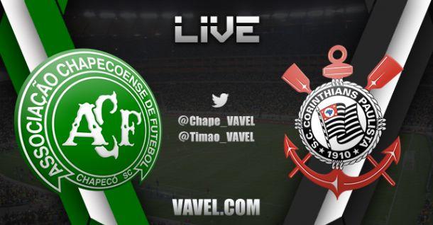 Chapecoense x Corinthians, Brasileirão 2014 ao vivo e