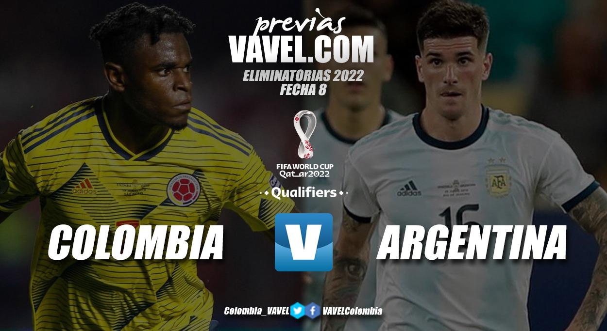 Previa Colombia vs Argentina: último reto previo a la Copa América