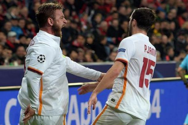 Roma beffata, pazzo 4-4 con il Bayer Leverkusen