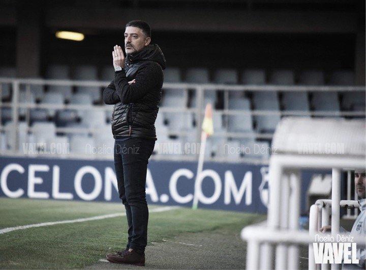 """García Pimienta: """"Somos el Barça y tenemos que salir a ganar en todos los partidos"""""""