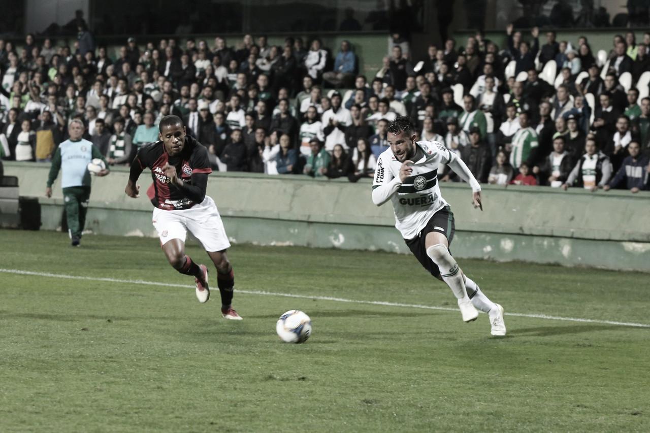 Gols e melhores momentos de Vitória x Coritiba pelo Campeonato Brasileiro da Série B 2019 (1-2)