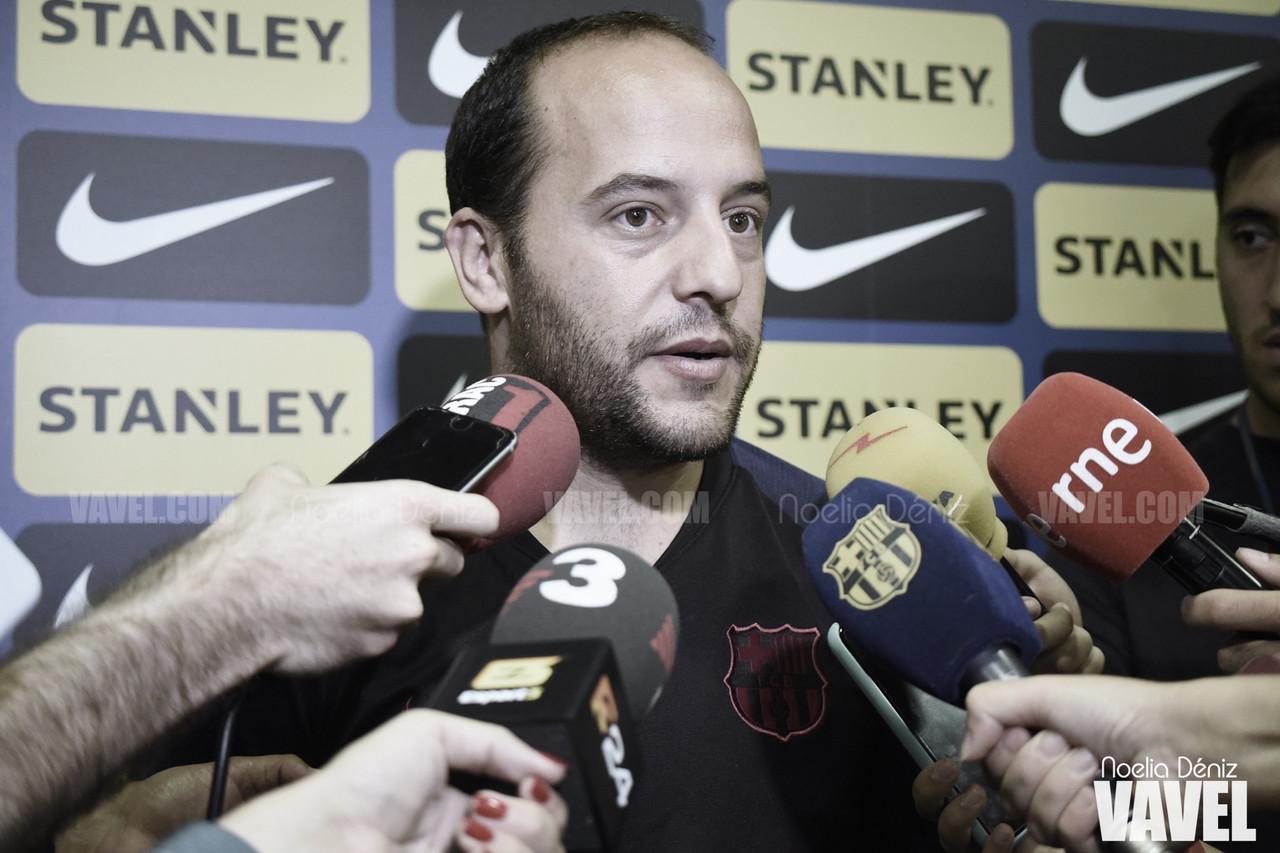 """Lluís Cortés: """"Tenemos que ir a ganar nuestro partido y después lo que pase con el Levante ya se verá"""""""
