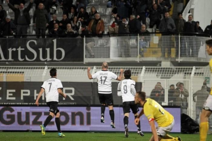 Spezia - Cesena 1-1: a Ragusa risponde Nenè