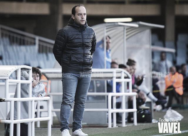 """Lluís Cortés: """"Si salimos a ganar y jugamos como sabemos es difícil que nos remonten esta ventaja"""""""