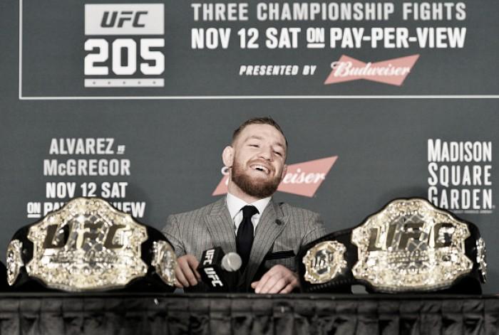 Após conquista histórica, McGregor declara que quer ser sócio do UFC