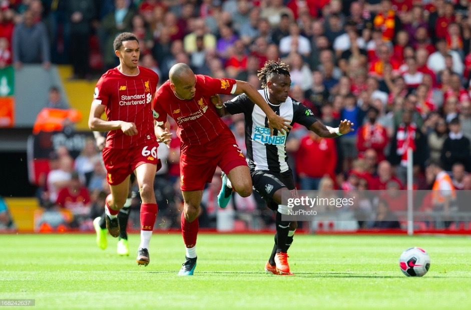 Atsu apologises after Anfield mistake
