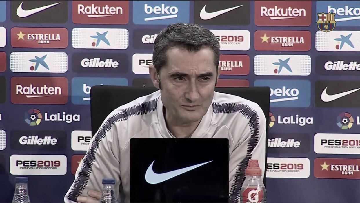 Valverde elogia Dembélé e Aleña após vitória do Barcelona sobre o Villarreal