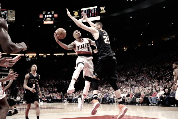 Portland Trail Blazers domina partida, bate Phoenix Suns em casa e soma sexta vitória seguida