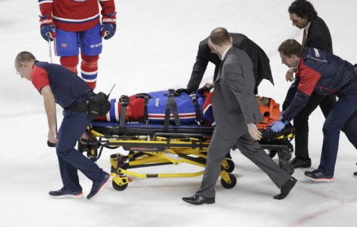 Montreal Canadiens' PK Subban Released From Hospital Following Neck Scare
