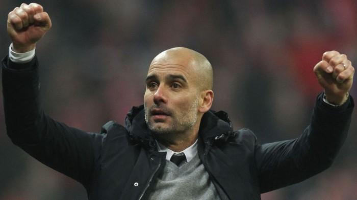 """Guardiola celebra título do Bayern e avalia experiência na Alemanha: """"Estou muito satisfeito"""""""