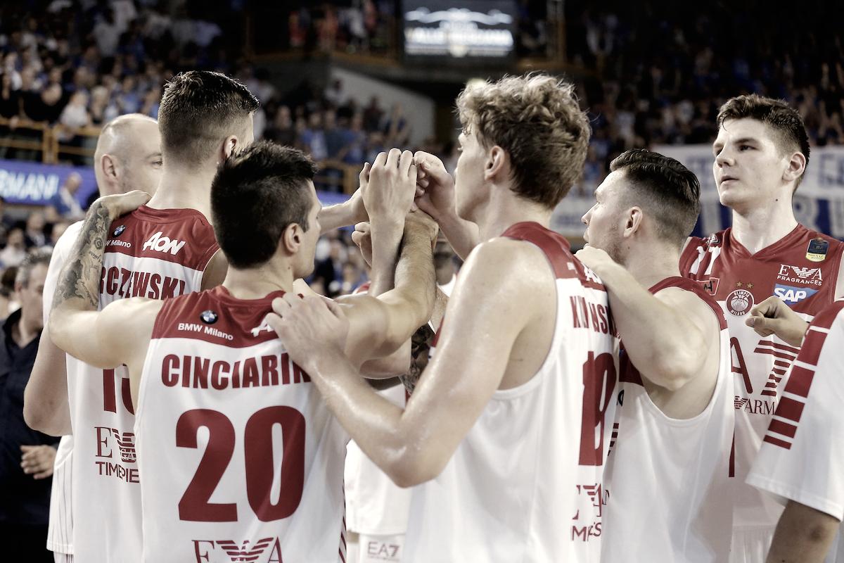 Legabasket Serie A - Milano è la prima finalista: battuta nuovamente Brescia (70-76)