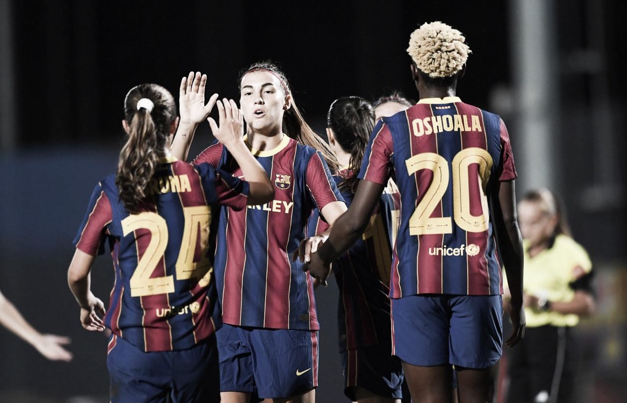 El femenino se foguea ante el AEM Lleida