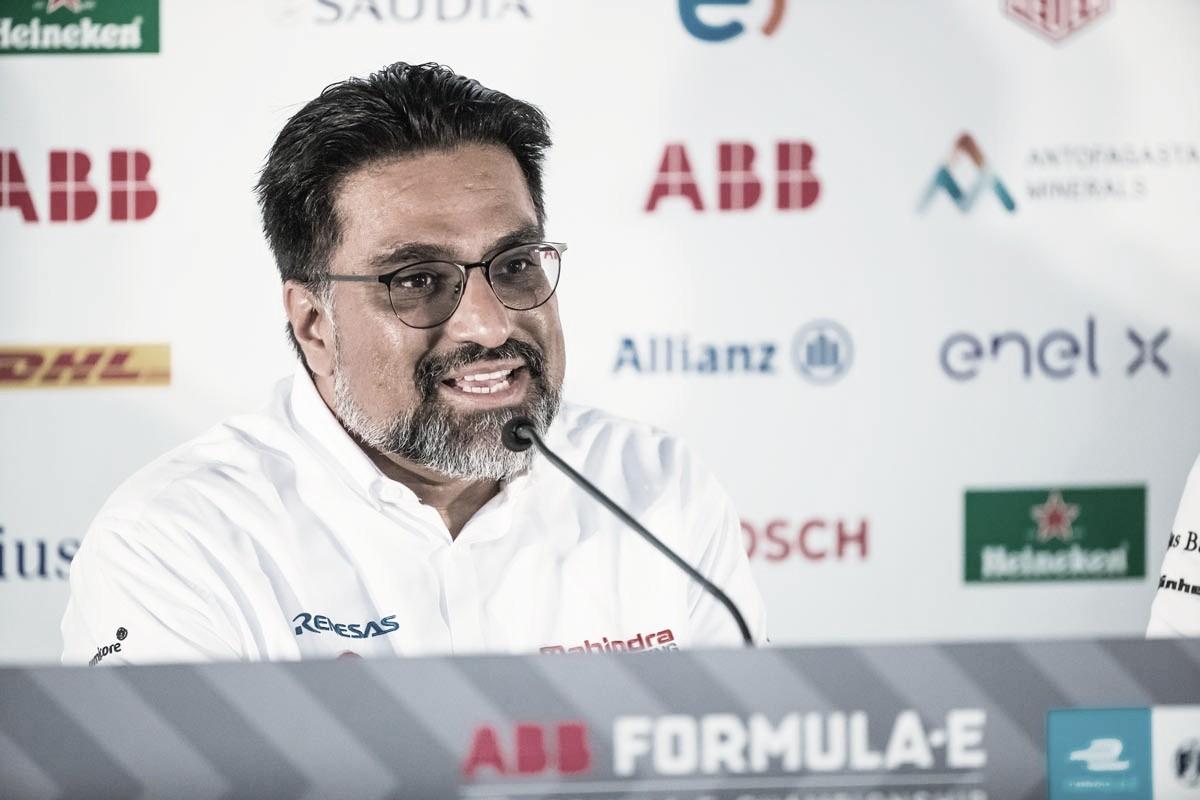 Na Fórmula E, chefe da Mahindra é diagnosticado com Covid-19