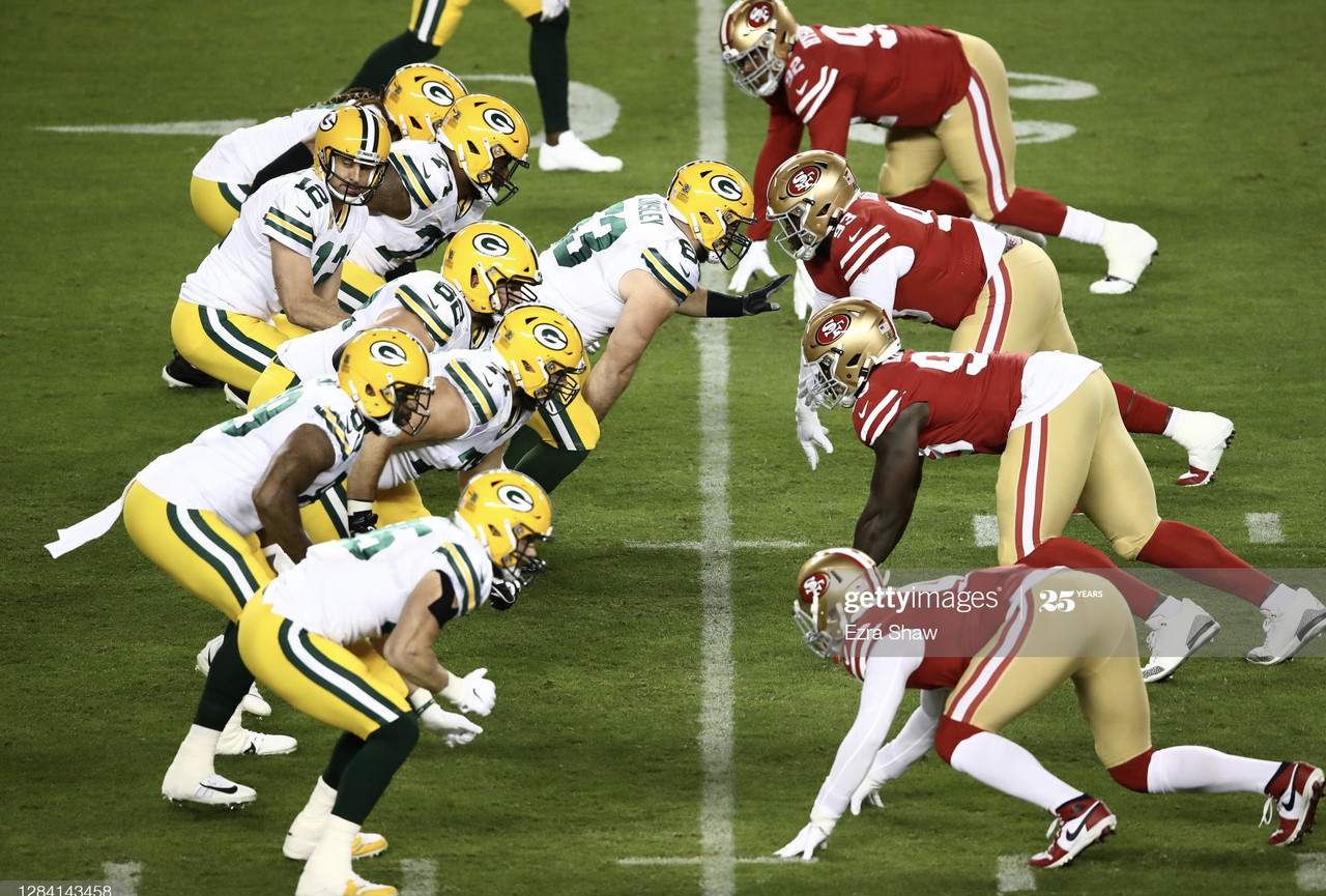 Green Bay Packers 34-17 San Francisco 49ers