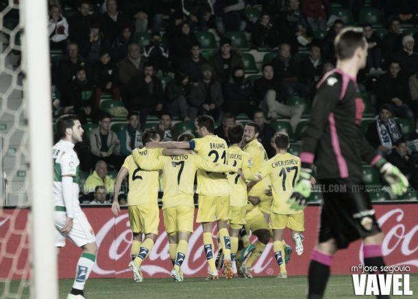 Fotos e imágenes del Elche CF 2-2 Villarreal CF, 17ª jornada de Liga BBVA