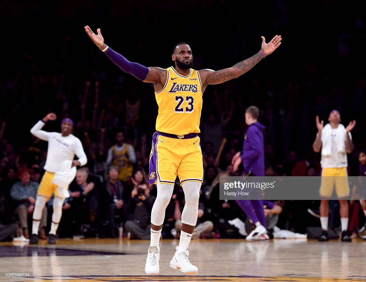 Lakers Secure Playoff Berth