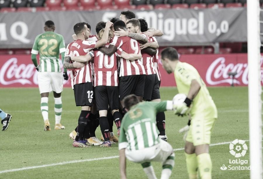 El Betis, derrotado. Fuente: LaLiga