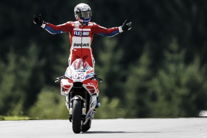 MotoGP - Dovizioso: testa e cuore per il Mondiale