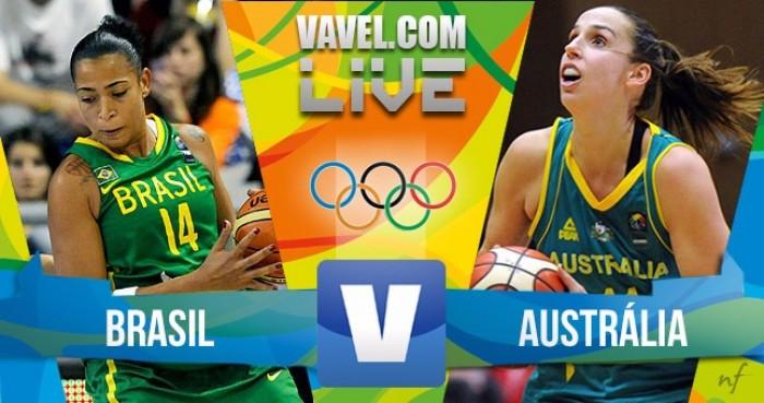 Basquete: Brasil x Austrália na Rio 2016