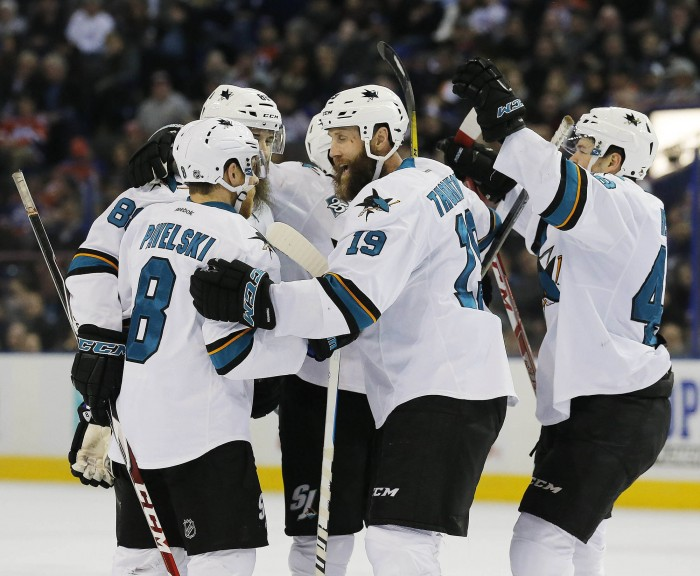 San Jose Sharks Poised For A Stanley Cup Run