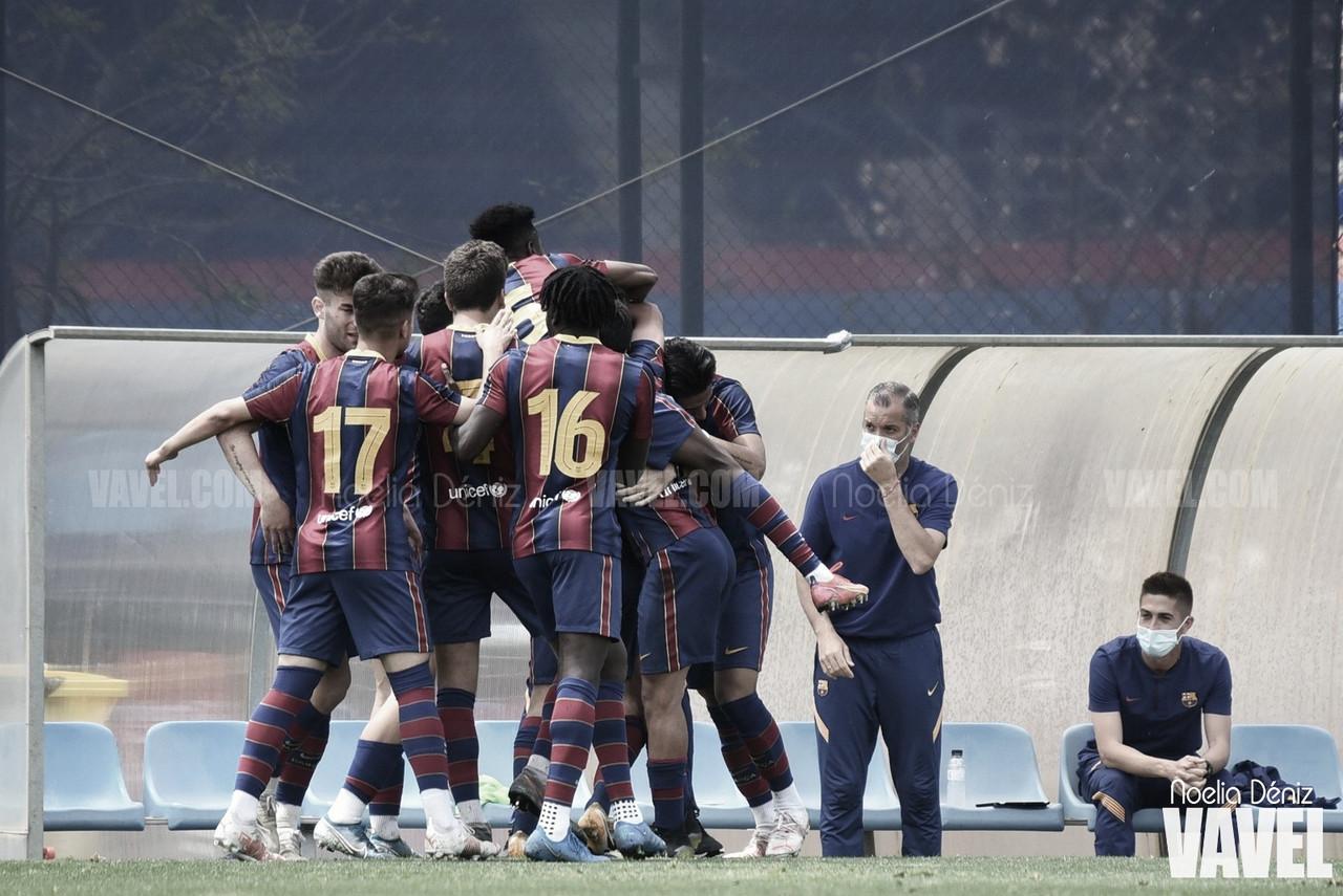 FCB Juvenil A obra la hazaña para colarse en la semifinal de la Copa Campeones