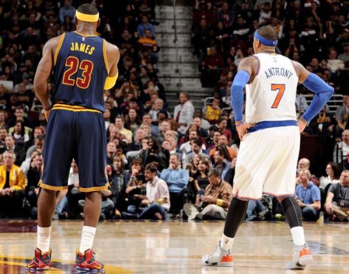 NBA Night: LeBron contro Melo, Spurs in Oklahoma