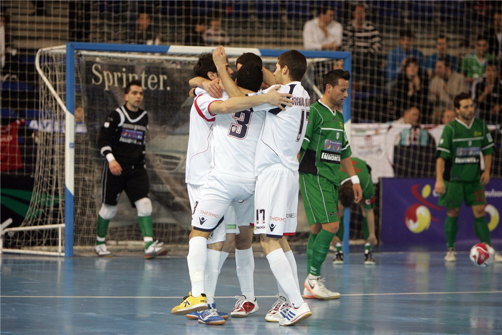 Lobelle 7 - Talavera 1: El Lobelle jugará la final de la Copa de España tras derrotar a Talavera en una exhibición de goles